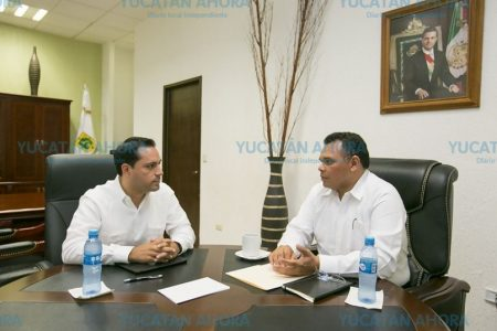 Anuncian reunión entre Mauricio Vila y Rolando Zapata