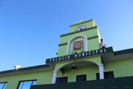 Investigan robo de caja fuerte en el Palacio Municipal de Kanasín