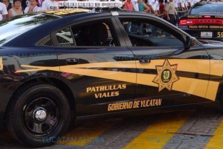 Conductor ebrio chocó contra una patrulla que abanderaba un accidente