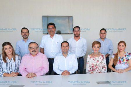Reunión plural de Mauricio Vila con senadores y diputados federales
