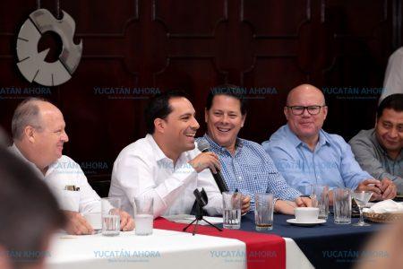 Mauricio Vila sostiene diálogos para construir la agenda de su gobierno