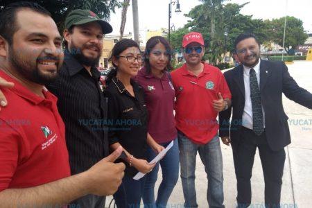 Se unen contra el alza del transporte en Mérida
