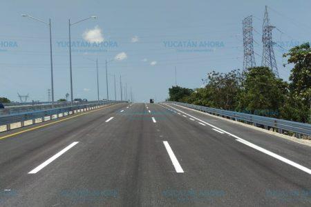Abren a la circulación este miércoles el cuerpo exterior del puente en la salida a Progreso