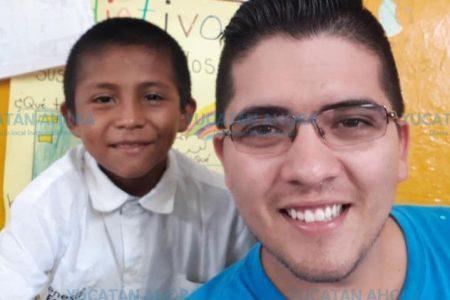 Un niño que no cumplirá el sueño de que su maestro lo vea próspero y triunfador