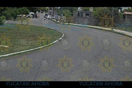 Por no ver un alto deja lesionados a esposos motociclistas en la Nora Quintana
