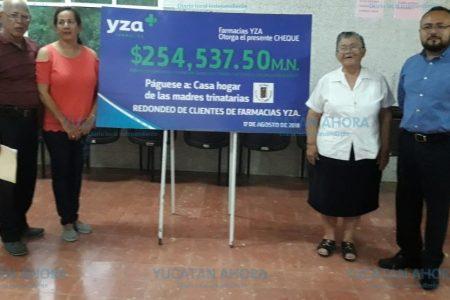 La CFE ya no 'desplumará' la casa hogar de las Madres Trinitarias de Chuburná