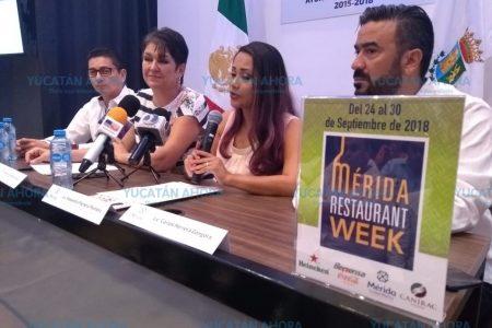 ¡A clausurar cocinas! Ya llega el Mérida Restaurant Week