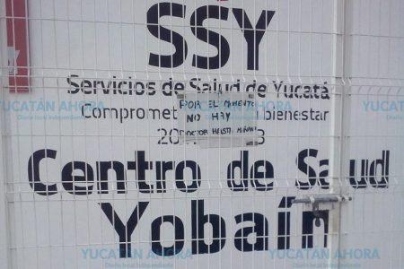 En plena fiesta popular, Yobaín se queda sin servicio médico