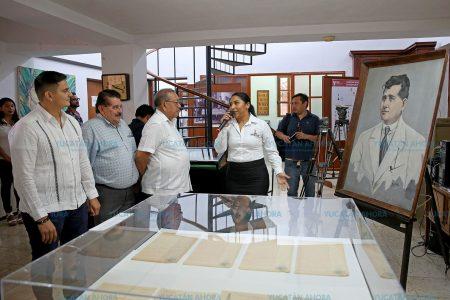 Muestran historia registral de 10 gobernadores yucatecos