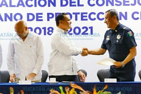 Compromiso de unir esfuerzos para actuar en caso de desastre en Mérida