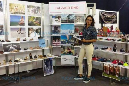 Quieren poner de moda en el mundo el calzado fabricado en Hunucmá