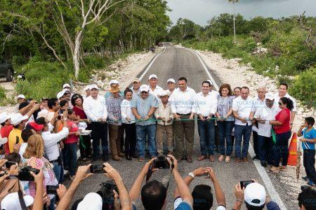 Dejan infraestructura para la vida sana y productiva del oriente de Yucatán