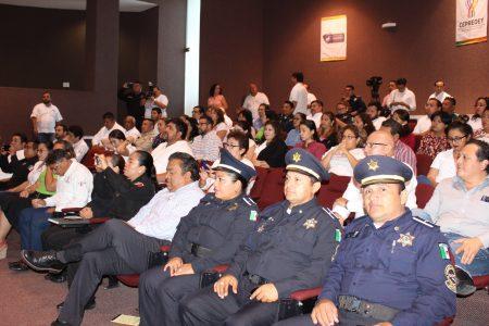 Certifican a policías de Mérida en la prevención dela violencia