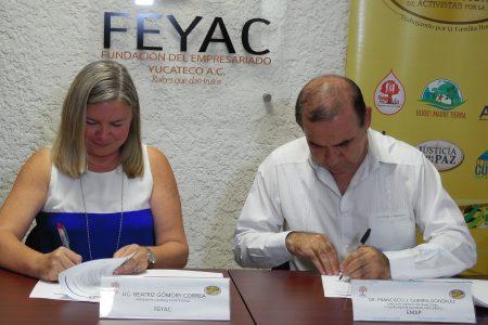 Buscar la felicidad integral del ser humano ya es compromiso del empresario yucateco