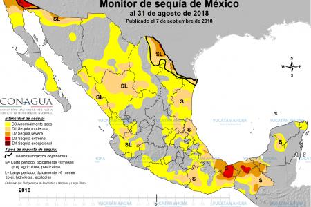 Las lluvias evitan el avance de la sequía en Yucatán