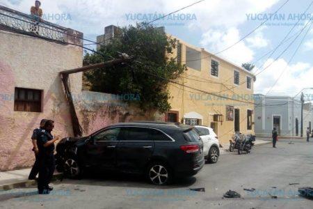 Terminan en la Fiscalía para ver quién paga los daños de un 'semaforazo'