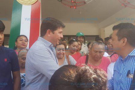 Antorchistas de Tizimín hacen llegar al alcalde lista de carencias en el municipio