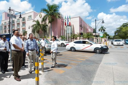 Totalmente modernizado la imagen urbana del nuevo distrito hotelero en Mérida