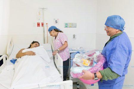 Nace el primer bebé en el nuevo Hospital Materno Infantil