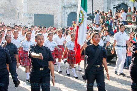 Estudiantes van por los 25 mil pesos en premios del Desfile Cívico Militar