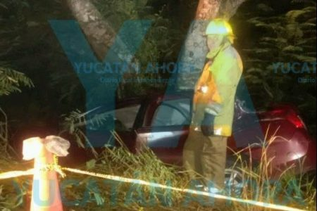 Fatal accidente en un tramo carretero de Tizimín: dos muertos