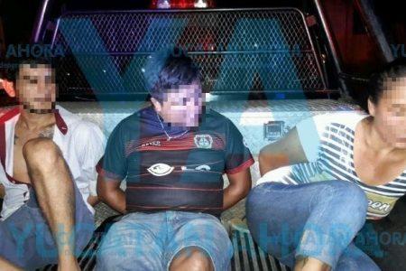Detienen a tercia de ladrones por robos en Las Américas