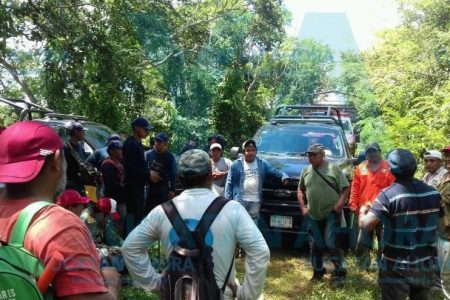 Intensa movilización por campesino al que se lo 'tragó' el monte