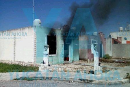 Schnauzer muere asfixiado en medio de un incendio en Ciudad Caucel