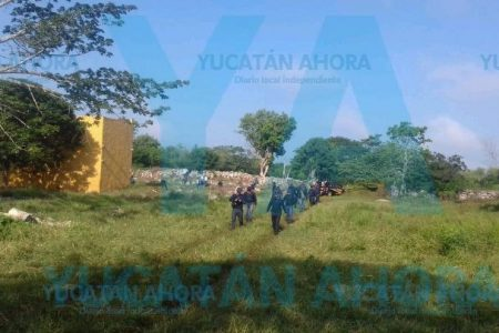 Sigue la búsqueda de vaquero extraviado en montes de la carretera Cacalchén-Hoctún