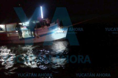 Rescatan nave nodriza y su alijo, al quedarse a la deriva frente a Sisal