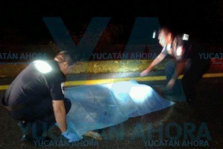 Tragedia en la carretera Mérida-Cancún: muere un abuelo de 68 años