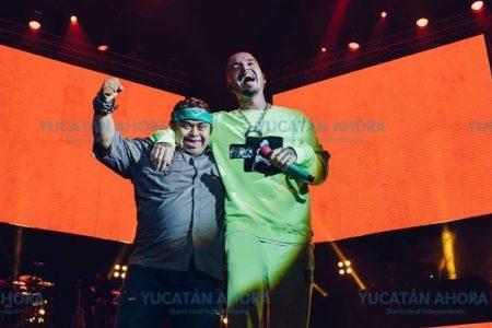 Yucateco especial le 'roba' el show a J Balvin en Mérida