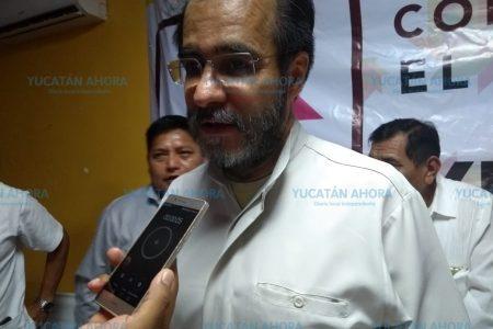 Bejarano viene a buscar adeptos yucatecos para su movimiento de esperanza