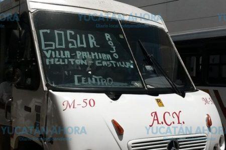 En medio de la crisis del transporte, dejan sin camiones a usuarios del sur de Mérida