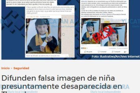 Siguen circulando falsos avisos de presuntos raptos de niños en Yucatán