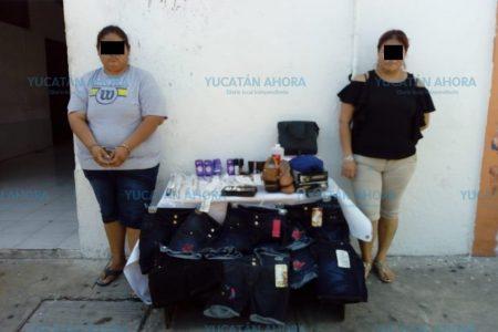 Por pelearse por el botín, sorprenden a dos presuntas 'farderas' en el centro de Mérida