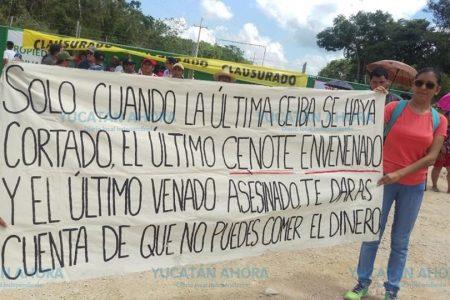 La sangre amenaza con llegar al cenote en Homún: acusan a Profepa de provocación