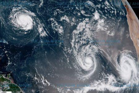 Septiembre se reafirma como el mes de los huracanes