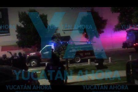 Se incendia un bar en el norte de Mérida, en la zona de City Center