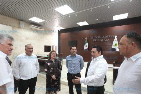Reforzaremos la administración de justicia en Yucatán: Mauricio Vila