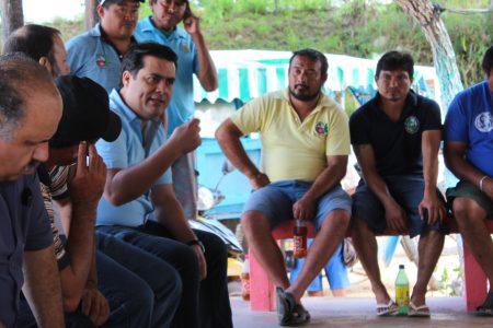 Ya no más abandono, piden lancheros del parador turístico Ría Celestún