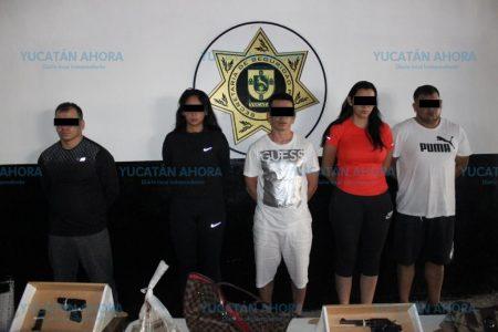 Yucatán captura a bandidos colombianos que han escapado de Guanajuato y Puebla