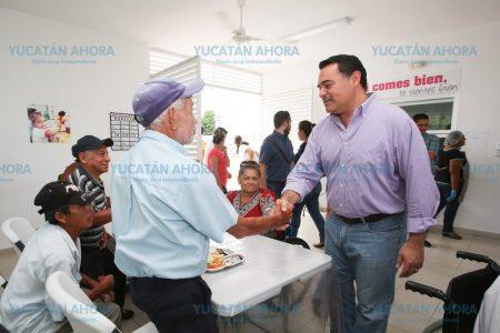 """Hasta las zonas marginadas de Mérida llevan el programa """"Hambre Cero"""""""