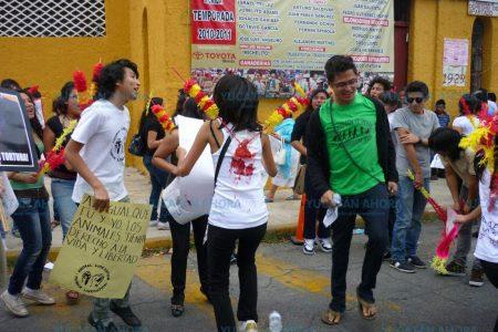 Convocan a manifestación para cancelar eventos taurinos en Mérida
