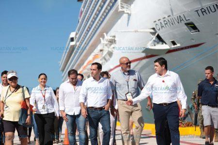 Somos capaces de mejorar y atraer más cruceros a Yucatán: Vila