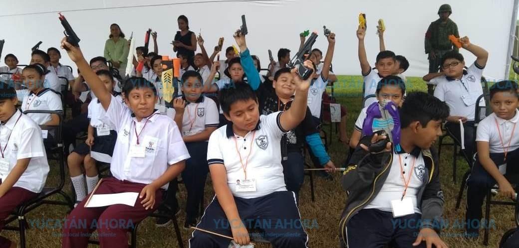 Cambian Armas De Juguete Por Juegos Didacticos Y Tradicionales