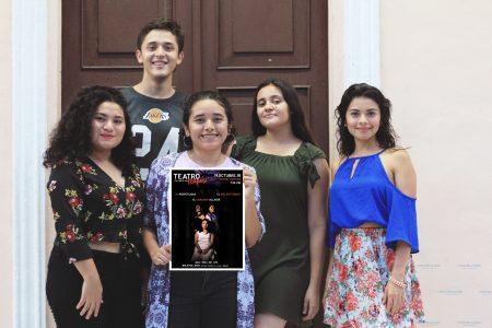 Jóvenes yucatecos presentan teatro en corto de terror