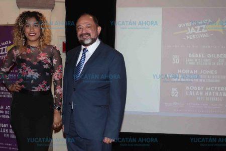 Promueven en Mérida el Festival de Jazz de la Riviera Maya