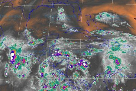 Se aproxima tiempo tempestuoso para la Península de Yucatán