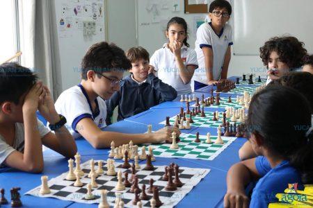 Entusiasta club infantil de ajedrez en Mérida